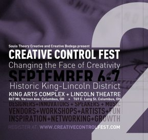 I'm speaking at Creative Control Fest in Columbus!