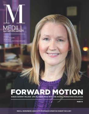 My interview with Susan Conroy McLeod for Medill magazine